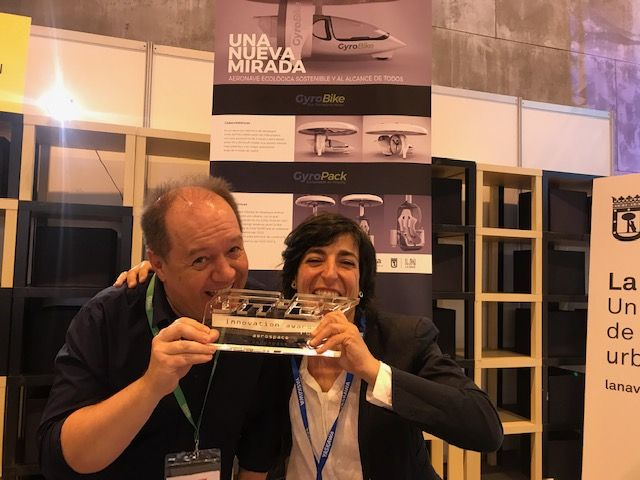 Premio a la Innovación Aeroespacial en la Feria Global Robot Expo 2019